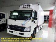 Bán xe tải Hino 4.5 tấn - XZU720L - 4T5 Hino Series 300 mới 100%, trả góp chỉ trả trước 10% giá 630 triệu tại Tp.HCM