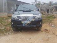 Cần bán Toyota Fortuner 2.5G đời 2014, màu đen số sàn giá 790 triệu tại Thanh Hóa