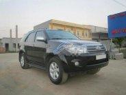 Cần bán xe Toyota Fortuner V 4x4AT đời 2009, màu đen số tự động giá 485 triệu tại Thanh Hóa