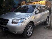 Bán ô tô Hyundai Santa Fe MLX đời 2007, màu bạc giá 500 triệu tại Hòa Bình