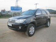Bán ô tô Toyota Fortuner V đời 2009, màu đen, giá 485tr giá 485 triệu tại Thanh Hóa