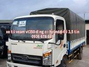 Xe tải Veam VT350 giá rẻ nhất, động cơ hyundai, tải trọng 3,5 tấn giá 399 triệu tại Hà Nội