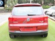 Cần bán Volkswagen Tiguan 2.0 Turbo năm 2017, màu đỏ, xe nhập giá 1 tỷ 290 tr tại Hà Nội