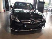Bán Mercedes C300 AMG, cuối 2017 màu đen giá 1 tỷ 750 tr tại Tp.HCM