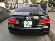 Cần bán lại xe Toyota Camry 2.4G đời 2008, màu đen giá 555 triệu tại Hà Nội