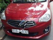 Bán Mitsubishi Attrage 1.2CVT sản xuất 2017, màu đỏ, xe nhập   giá 458 triệu tại Tp.HCM