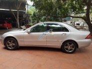 Auto bán Mercedes C200 Kompressor MT đời 2002, màu bạc giá 185 triệu tại Hà Nội