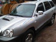 Bán Hyundai Santa Fe Gold 2.0 AT đời 2002, màu bạc giá 228 triệu tại Hải Dương