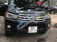 Bán Toyota Hilux 3.0G AT đời 2016, màu đen như mới giá 770 triệu tại Hà Nội