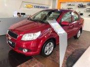 Cần bán Chevrolet Aveo 2018, màu đỏ giá 435 triệu tại Hà Nội