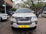 Bán Toyota Fortuner 2.7V (4x2) năm 2017, màu trắng, nhập khẩu giá 1 tỷ 355 tr tại Hà Nội