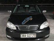 Cần bán Toyota Corolla altis sản xuất 2004, màu đen giá 292 triệu tại Hà Tĩnh