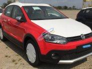 (Nhận cọc) Volkswagen Polo Cross 2017 màu đỏ nhập khẩu nguyên chiếc, LH 0905 413 168, xe giao tháng 5 giá 725 triệu tại Tp.HCM