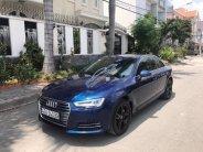Bán xe Audi A4 năm sản xuất 2016, màu xanh lam, nhập khẩu giá 1 tỷ 479 tr tại Tp.HCM