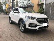 Cần bán lại xe Hyundai Santa Fe 2.2 CRDI 4WD năm sản xuất 2018, màu trắng, xe nhập chính chủ giá 1 tỷ 240 tr tại Hà Nội