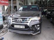 Cần bán Toyota Fortuner 2.7V 4x2 AT năm sản xuất 2017, màu nâu, nhập khẩu nguyên chiếc  giá 1 tỷ 290 tr tại Tp.HCM