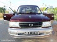 Cần bán lại xe Toyota Zace sản xuất 2001, màu đỏ, nhập khẩu chính hãng giá 255 triệu tại Đồng Nai