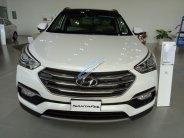 Bán Hyundai Santa Fe 2018, màu trắng, máy xăng, số tự động, bản Full option giá 1 tỷ 40 tr tại Tp.HCM