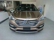 Cần bán Hyundai Santafe xăng, sản xuất 2018, màu nâu giá 1 tỷ 2 tr tại Hà Nội