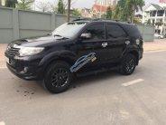 Bán xe Toyota Fortuner 2.7V 4x2 AT 2013, màu đen   giá 710 triệu tại Hà Nội