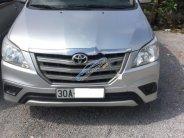 Bán Toyota Innova 2.0E năm sản xuất 2014, màu bạc giá 585 triệu tại Hà Nội