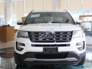 Bán ô tô Ford Explorer Limited 2.3L EcoBoost năm 2017, màu trắng, nhập khẩu giá 2 tỷ 170 tr tại Hà Nội