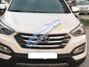 Bán Hyundai Santa Fe 2.2 AT sản xuất năm 2015, màu trắng   giá 915 triệu tại Hà Nội