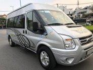 Cần bán gấp Ford Transit Luxury năm sản xuất 2014, màu bạc giá 595 triệu tại Tp.HCM