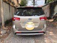 Cần bán Kia Sedona 3.3 GATH đời 2015, màu vàng cát máy xăng giá 1 tỷ 60 tr tại Hà Nội