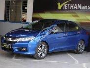 Cần bán lại xe Honda City 1.5AT đời 2015, màu xanh lam, giá 506tr giá 506 triệu tại Tp.HCM