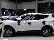 Bán ô tô Hyundai Santa Fe đời 2018, màu trắng giá 1 tỷ 260 tr tại Kiên Giang