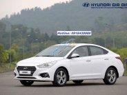 Cần bán xe Hyundai Accent 1.4AT năm sản xuất 2018, màu trắng giá 499 triệu tại Tp.HCM