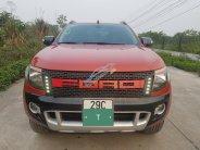 Bán xe Ford Ranger Wildtrak năm sản xuất 2015, màu đỏ, nhập khẩu giá 695 triệu tại Hà Nội