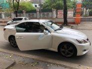 Bán Lexus IS 250c đời 2009, màu trắng, nhập khẩu nguyên chiếc giá 1 tỷ 160 tr tại Hà Nội