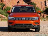 Xe Volkswagen Tiguan E 2018, màu đỏ, nhập khẩu nguyên chiếc, số tự động giá 1 tỷ 699 tr tại Tp.HCM