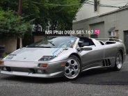 Bán xe Lamborghini Diablo VT Roadster sản xuất 1999, màu bạc nhập khẩu nguyên chiếc giá 15 tỷ 500 tr tại Tp.HCM