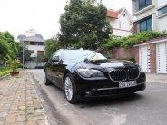 Cần bán BMW 7 Series 750 LI đời 2009, màu đen, nhập khẩu nguyên chiếc giá 1 tỷ 550 tr tại Hà Nội