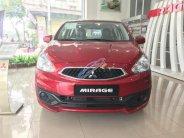 Bán xe Mitsubishi Mirage 1.2MT sản xuất năm 2017, màu đỏ, nhập khẩu Thái Lan giá 385 triệu tại Hà Nội