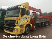 Bán tải 5 chân gắn cẩu tự hành 7 tấn, 8-10 tấn, 12-15 tấn Soosan, Unic, Tanado, Kanglim, Atom 2017-2018 giá 2 tỷ 600 tr tại Hà Nội
