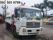 Bán xe tải Dongfeng gắn cẩu tự hành 5 tấn, năm 2018 giá 1 tỷ 280 tr tại Hà Nội