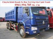 Chuyên bán xe tải Ben Howo 371 – 3 chân – 10 khối – 12 tấn + LH 0961994785+ Trả góp giá 1 tỷ 185 tr tại Kiên Giang