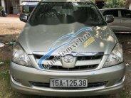 Cần bán lại xe Toyota Innova đời 2007, màu bạc, giá tốt giá 338 triệu tại Hải Phòng