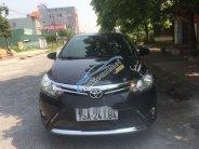 Cần bán gấp Toyota Vios năm 2016, màu đen xe gia đình giá cạnh tranh giá 470 triệu tại Hải Phòng