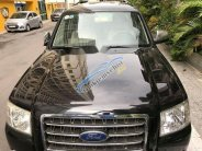 Cần bán xe Ford Everest MT đời 2009, màu đen  giá 395 triệu tại Hà Nội