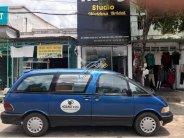 Bán Toyota Previa 2.4 AT đời 1990, màu xanh lam, nhập khẩu nguyên chiếc giá 89 triệu tại Bình Dương