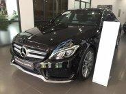 Cần bán gấp Mercedes C300 AMG năm sản xuất 2017, màu đen giá 1 tỷ 859 tr tại Hà Nội
