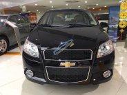 Bán ô tô Chevrolet Aveo LT MT năm 2018, màu đen, giá giảm siêu tốt không đâu rẻ hơn giá 459 triệu tại Tp.HCM