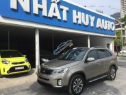 Bán xe Kia Sorento DATH năm 2017, màu vàng cát, giá tốt, thủ tục nhanh chóng giá 938 triệu tại Hà Nội