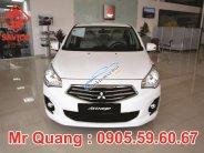 Mitsubishi Đà Nẵng, giá xe Attrage màu trắng, số tự động. LH Quang: 0905.59.60.67 giá 460 triệu tại Đà Nẵng
