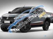 Bán xe bán tải Triton Athlete 2018 màu xám nhập khẩu, khuyến mãi phụ kiện, liên hệ 0911821507 giá 745 triệu tại Quảng Bình